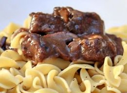 Slow Cooker Beef Tips