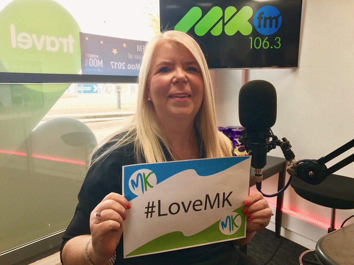 Pauline from @Purcell_MK came in to see us #LoveMK https://t.co/S0lTnp...