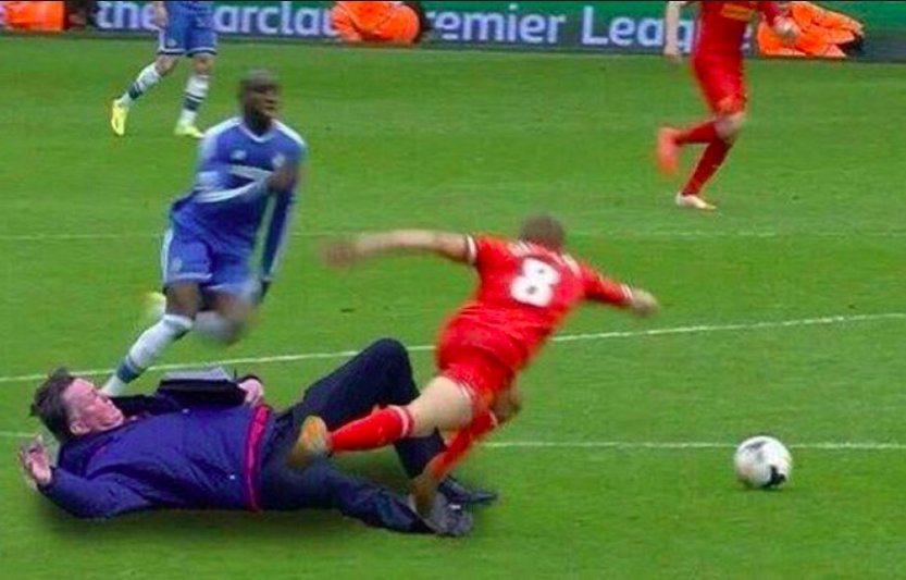 3 YEARS AGO TODAY: Steven Gerrard infamously slipped...and the Interne...
