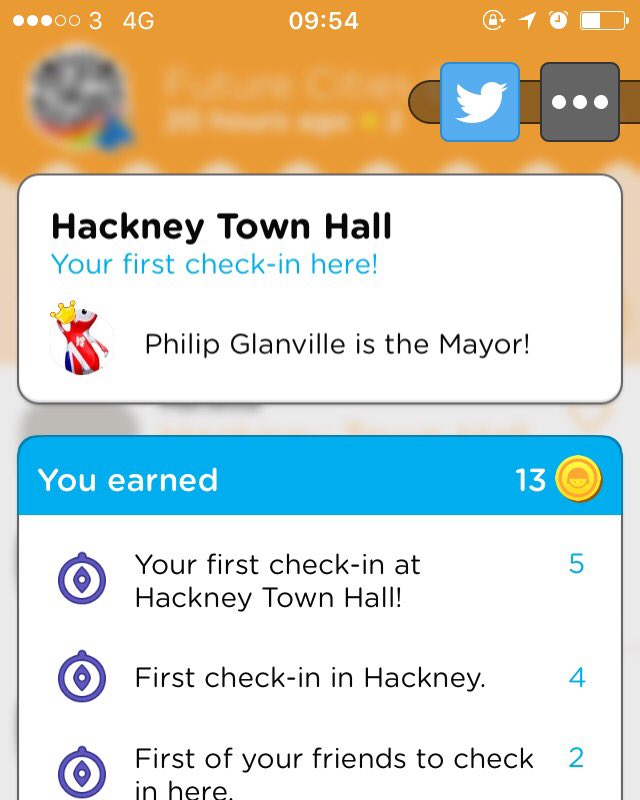 Checking in at the Hackney Cycling Conference. Hackney Town Hall's mayor is the actual mayor. #ibikehackney #swarm #4sq https://t.co/H2hTYgoz3y