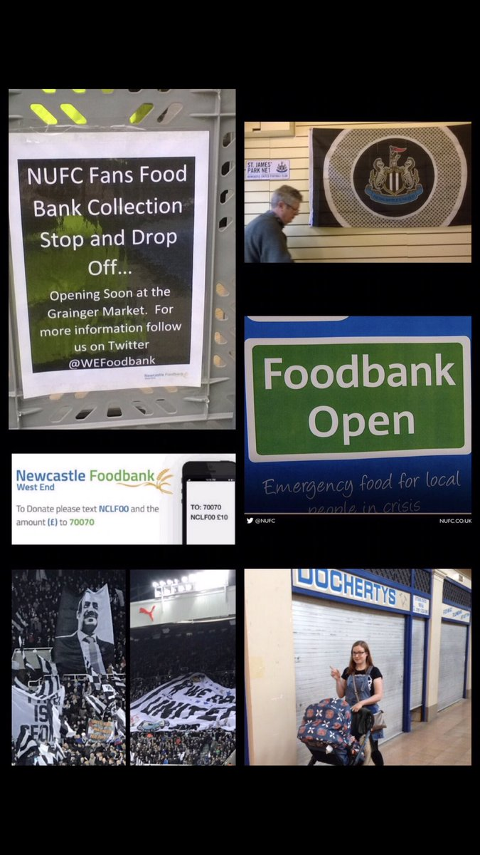 Nufc Fans Food Bank On Twitter The At Nufcfoodbank Stop