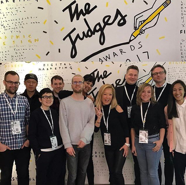 It was great to be a part of @dandad judging this year. Inspiring work and equally inspiring people. #dandad17 https://t.co/tMjOTgbXD4