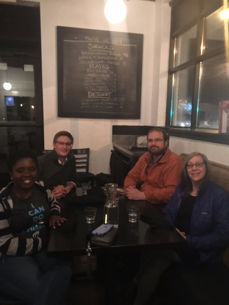 You will be missed!  A great night out to celebrate #Auggie Biophysics lab graduates at@Victory_44.  Thank You!!! https://t.co/YBjLT0Dhlm