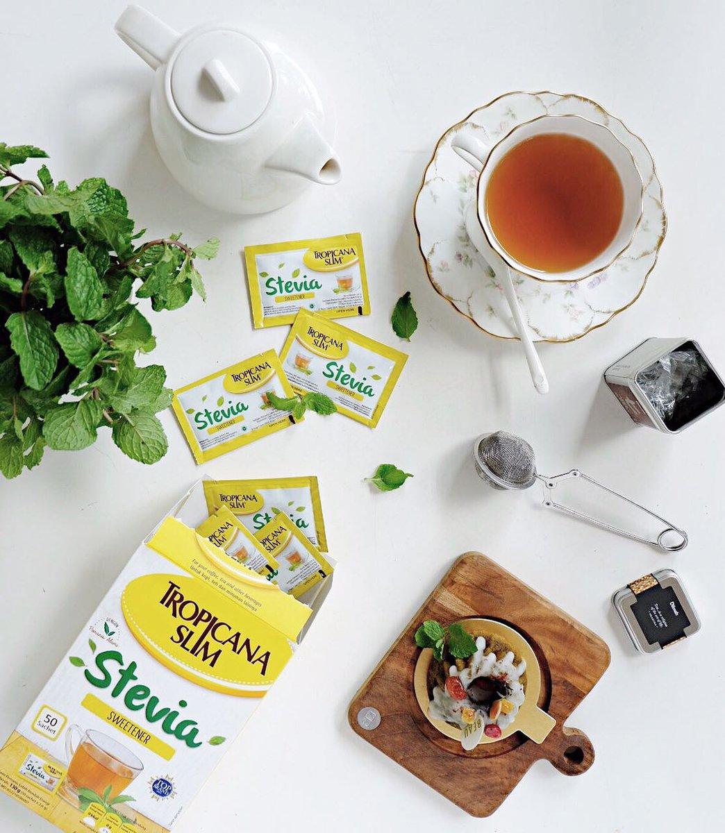 Tropicana Slim On Twitter Pemanis Nol Kalori Untuk Menggantikan Stevia Gula Harian Kamu Dari Daun