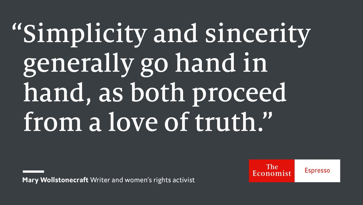 Our quote of the day is from English writer and intellectual Mary Woll...