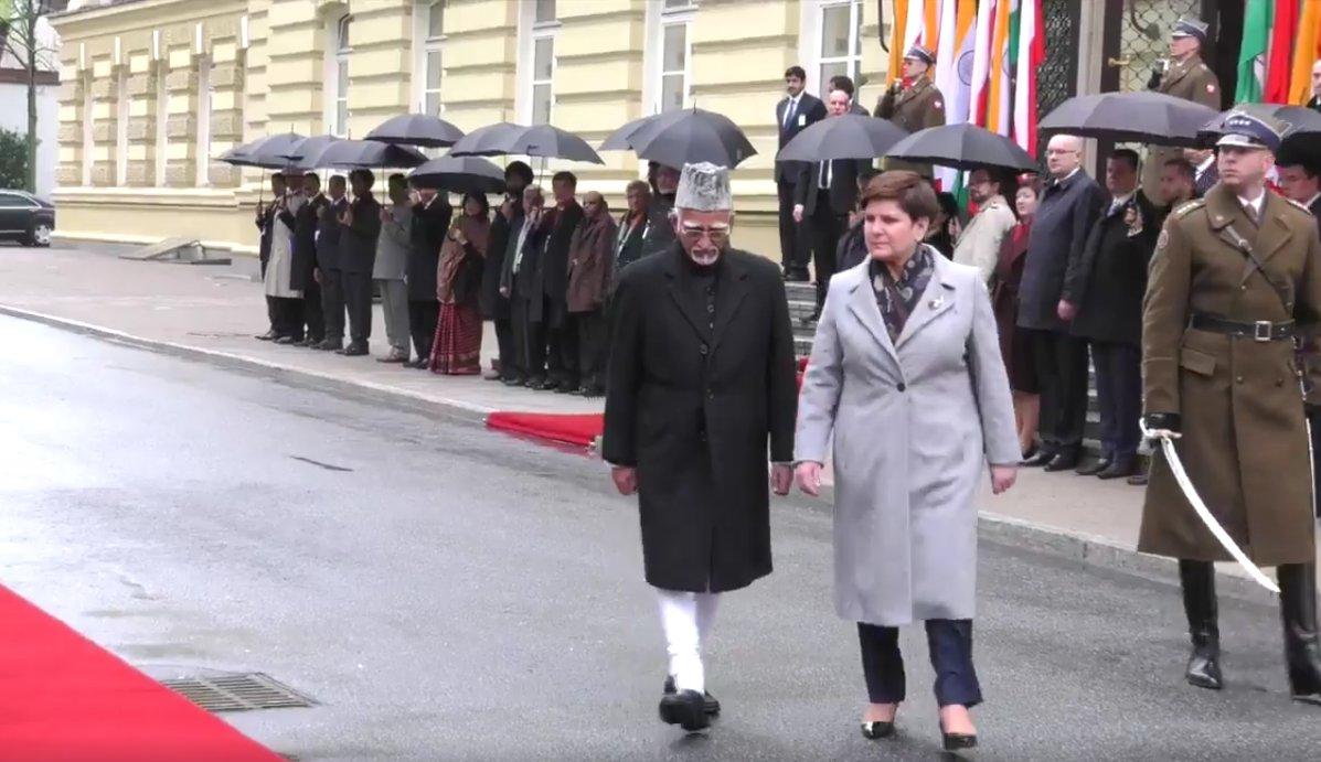 "Doordarshan News on Twitter: ""#Warsaw: Vice President ..."