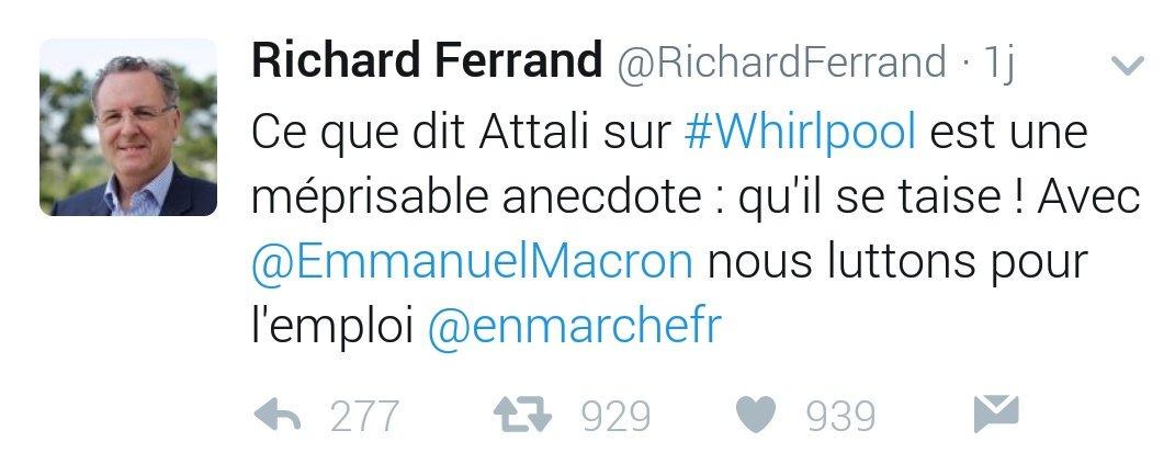 Richard Ferrand a 0 chill