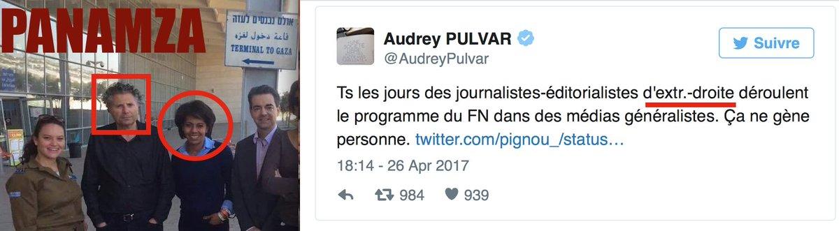 Audrey Pulvar : allergique à Le Pen, amicale avec l'extrême droite israélienne