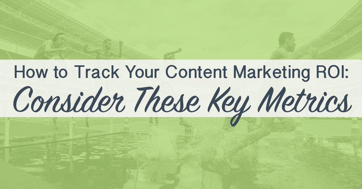 How to Track Your #ContentMarketing #ROI : Consider These Key #Metrics  http:// ampr.ch/VyJ7  &nbsp;  <br>http://pic.twitter.com/yMeTBLZEhE