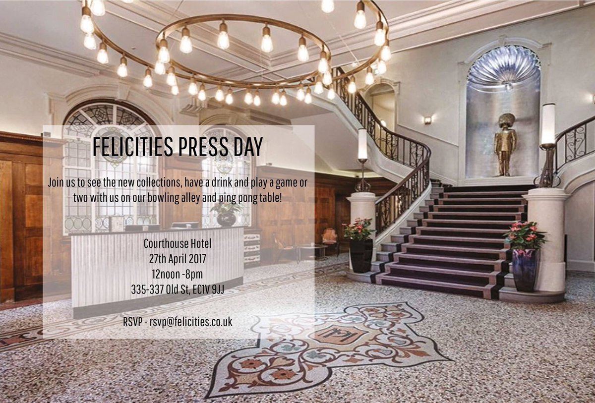 Our Press Day is open!!! Look forward to seeing you all today! https://t.co/vL08X8t6Ni