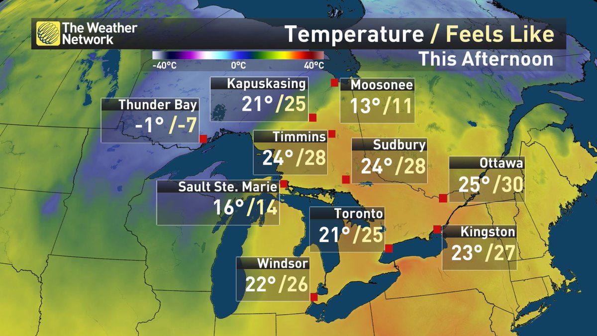 This is wild.  Drive just 8 hours from Thunder Bay to Timmins today an...