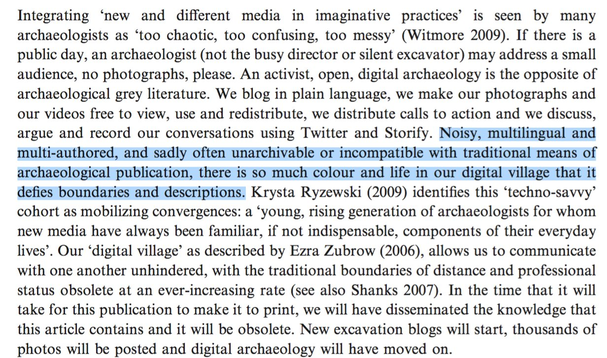 Our colorful & lively community (perhaps a fictive kinship) seemed diminished, the digital village disbanded and in hiding. https://t.co/fopKfP8KRh