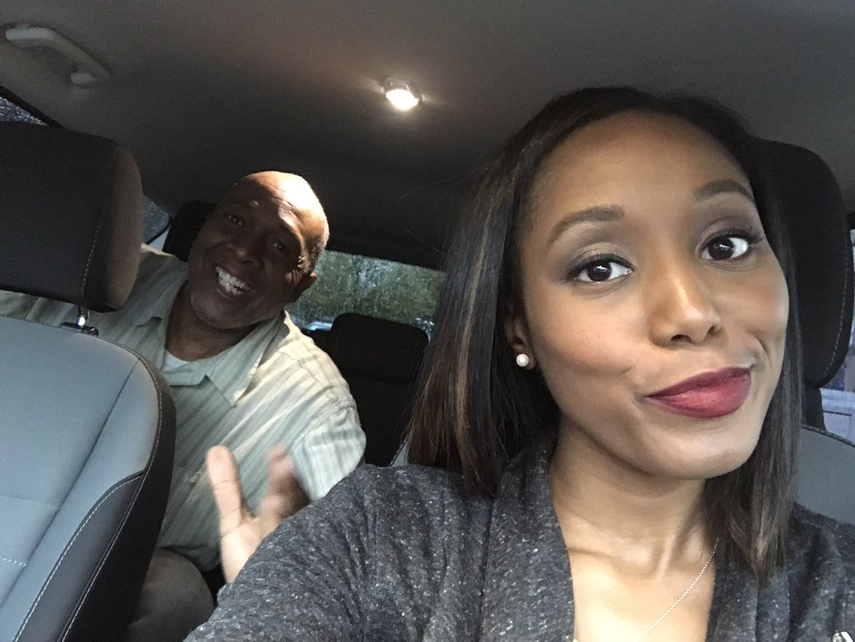 Can you tell @JoJoThePhotog is excited I'm driving him for once?#Atlan...