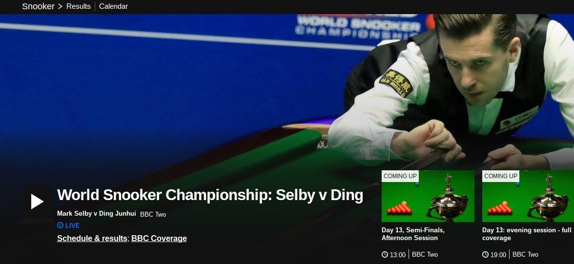 BBC Snooker on Twitter:
