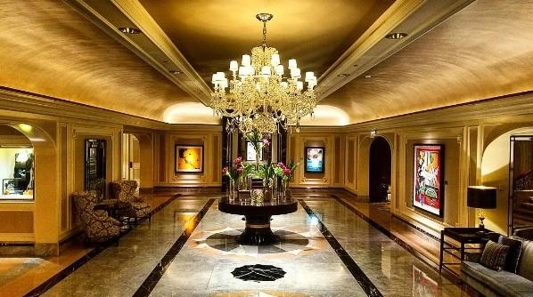 Four seasons chicago on twitter we love our lobby for Hotel decor chicago