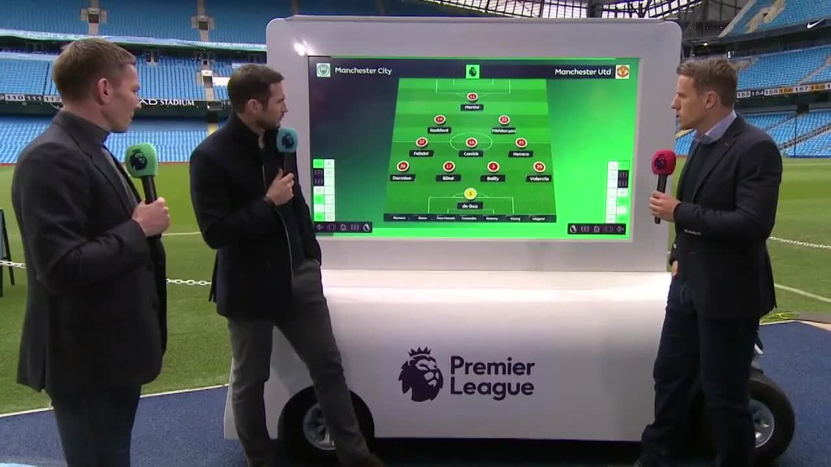 How will Mourinho approach #MCIMUN?  Frank Lampard has his say... http...