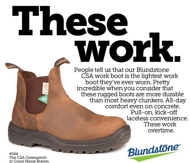 test Twitter Media - Did you know? We have CSA #Blundstone boots in stock in our store at @LansdownePlace #ptbo #comfortable https://t.co/l8UBFi7PA6