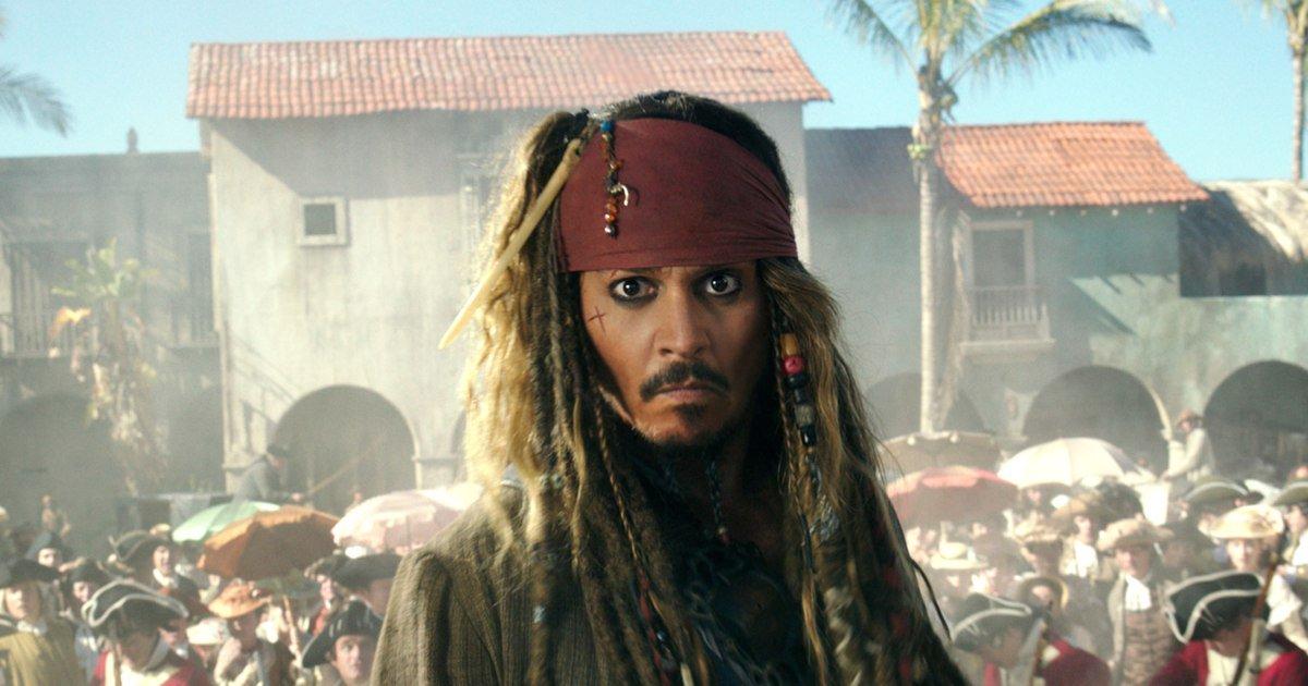 Watch Johnny Depp surprise #PiratesOfTheCaribbean riders at Disneyland...