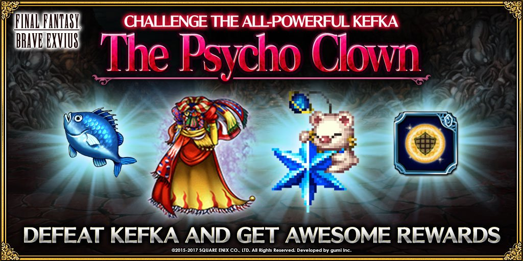 Final Fantasy Exvius On Twitter Congratulations On Defeating Kefka
