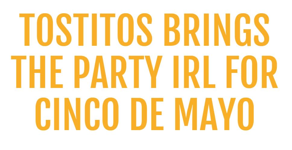 Tired of only celebrating Cinco de Mayo online? Finally a solution for you! https://t.co/05ipcXo761
