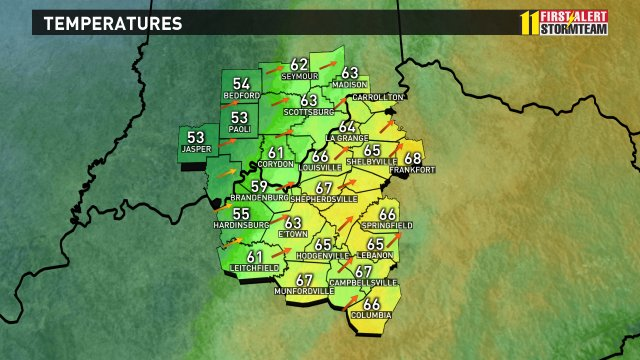 Here are the current temperatures for #Kentucky and #Indiana https://t...