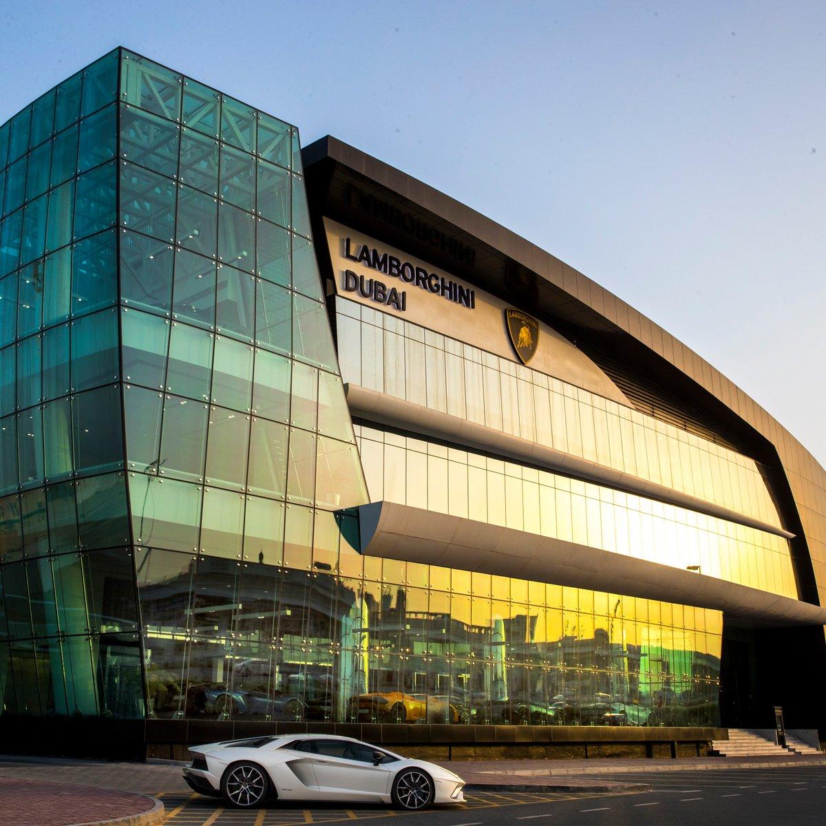 Lamborghini On Twitter We Ve Opened In Dubai The Lamborghini