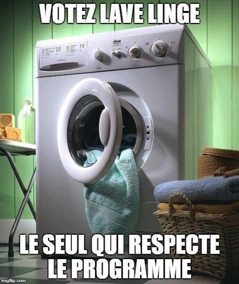 Gaby Wald On Twitter Humour Votez Lave Linge Le Seul
