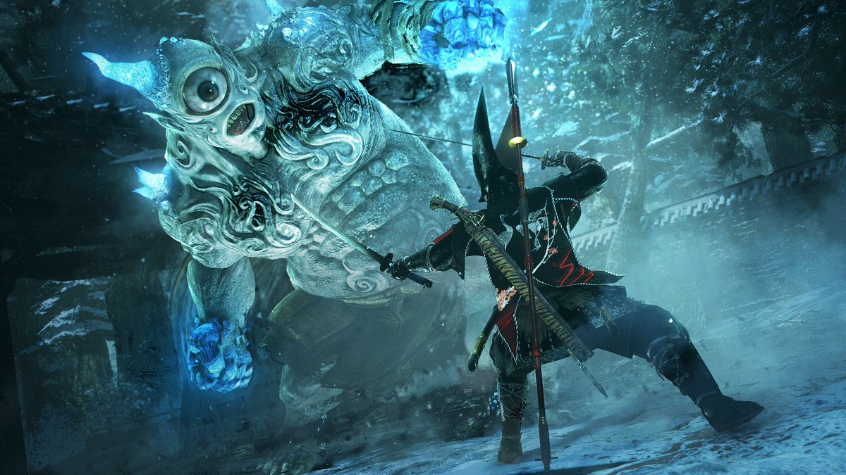 Team Ninja's acclaimed Nioh gets new DLC, Dragon of the North, May 2. Details at https://t.co/6rfZPfginF: https://t.co/hzUgvHqFxs