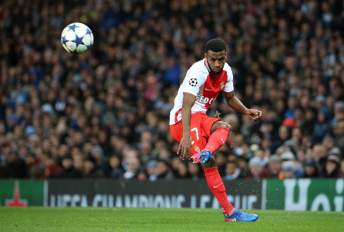 Thomas Lemar has had a hand in 22 goals for Monaco this season (12 goa...