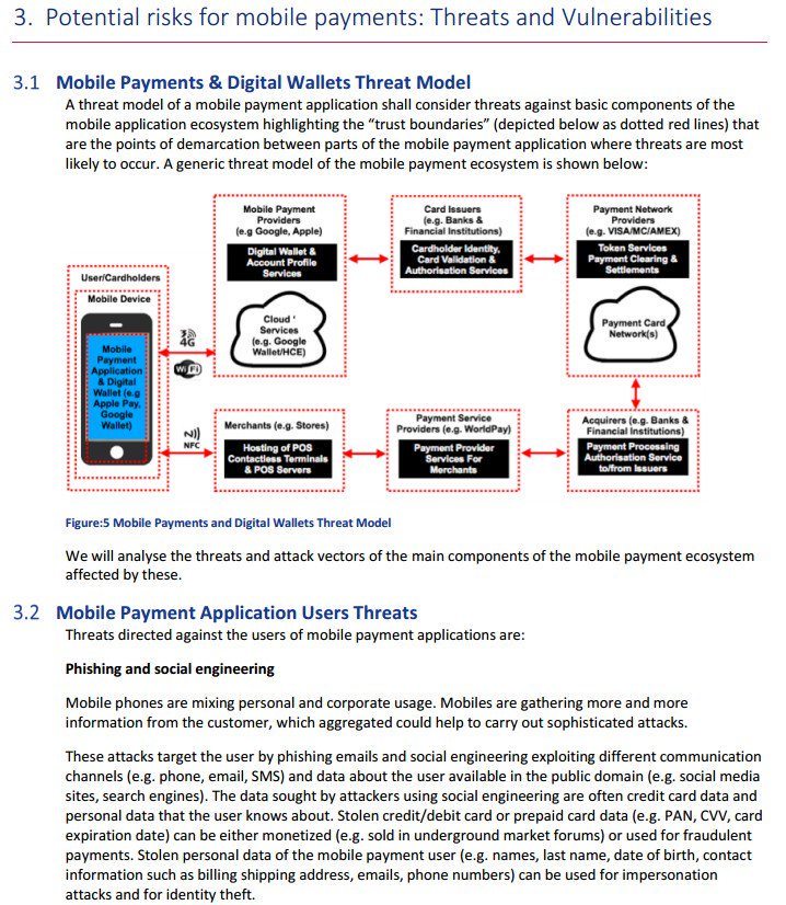 #Security of #MobilePayments and Digital Wallets #fintech #defstar5 #makeyourownlane #Mpgvip  http:// bit.ly/2q9X06q  &nbsp;  <br>http://pic.twitter.com/hGSEJ0F4Y3