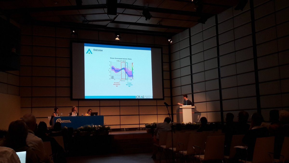 test Twitter Media - Dr Florian LePape presents his results on seismic noise in the geomarine environment offshore Ireland @iCRAGcentre @MarineInst #EGU17 https://t.co/BbtrmcCJ8q