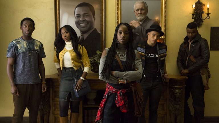 #DearWhitePeople embraces the Trump era in its move to the small scree...