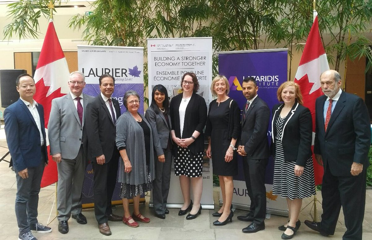 .@Laurier receives up to $2.5M in @FedDevOntario funding to benefit #t...