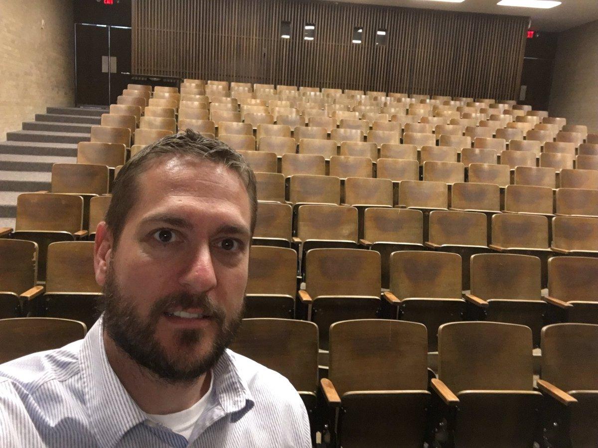 When you teach an optional class during #DrakeRelays week. https://t.co/kOpJyV4SqI