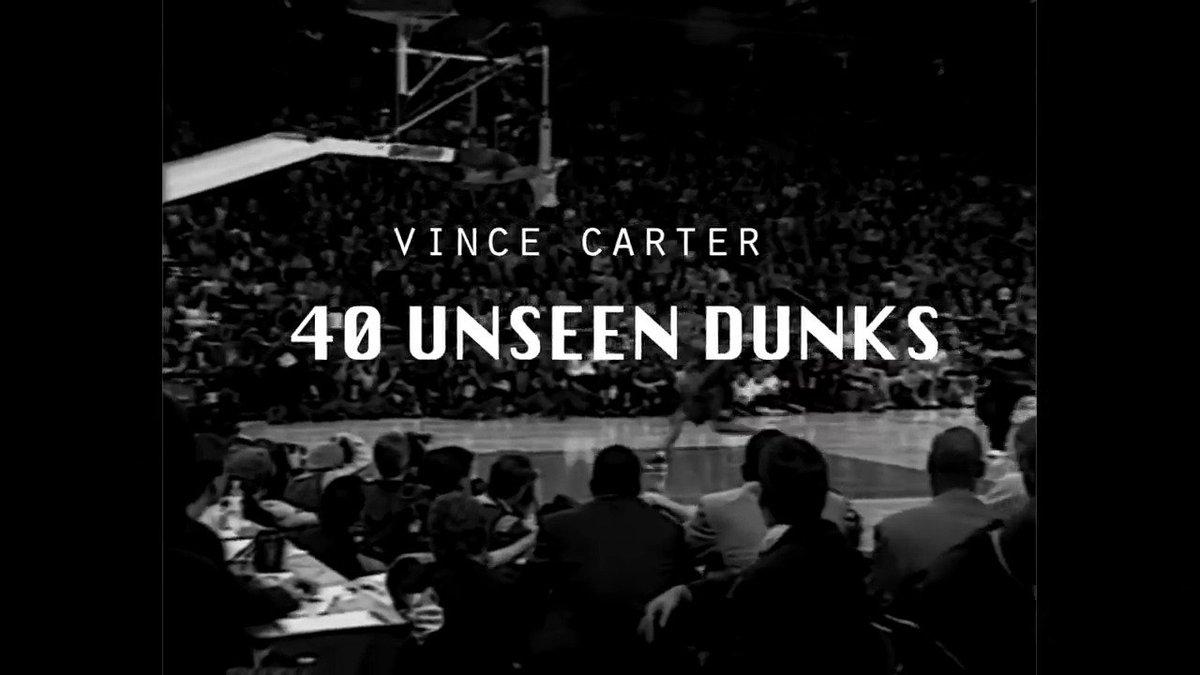 Qué joya de vídeo de Vince Carter   Atentos al número 1... https://t.c...