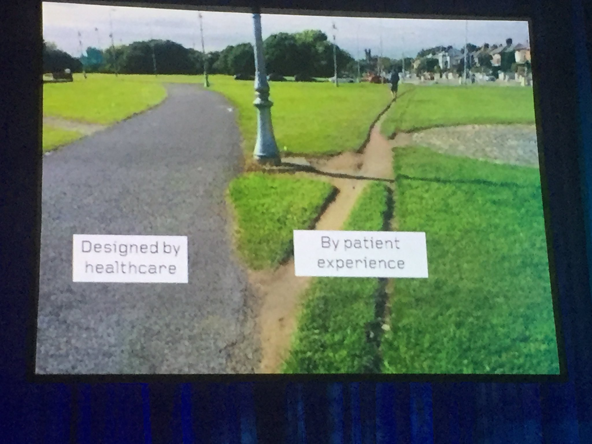 Sometimes patients don't take the path healthcare chooses for them. Be an enabler not a blocker.....#Quality2017 https://t.co/Nn5UlTEbVv