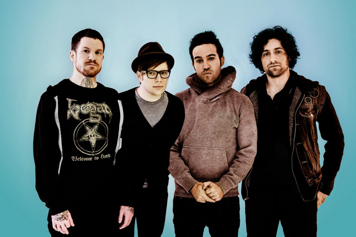 Bloody heck - Fall Out Boy have announced their new album, 'M A N I A'...