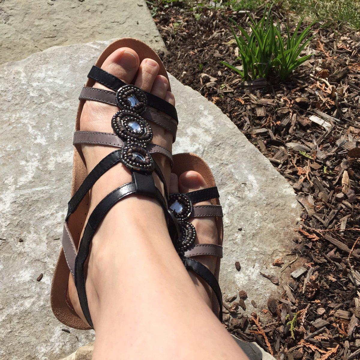 test Twitter Media - RT @KelliZG: Finally! The perfect weather to wear my new @Rockport Hannah sandals. ☀️@gradyshoes #happyfeet https://t.co/FibarWGzzi