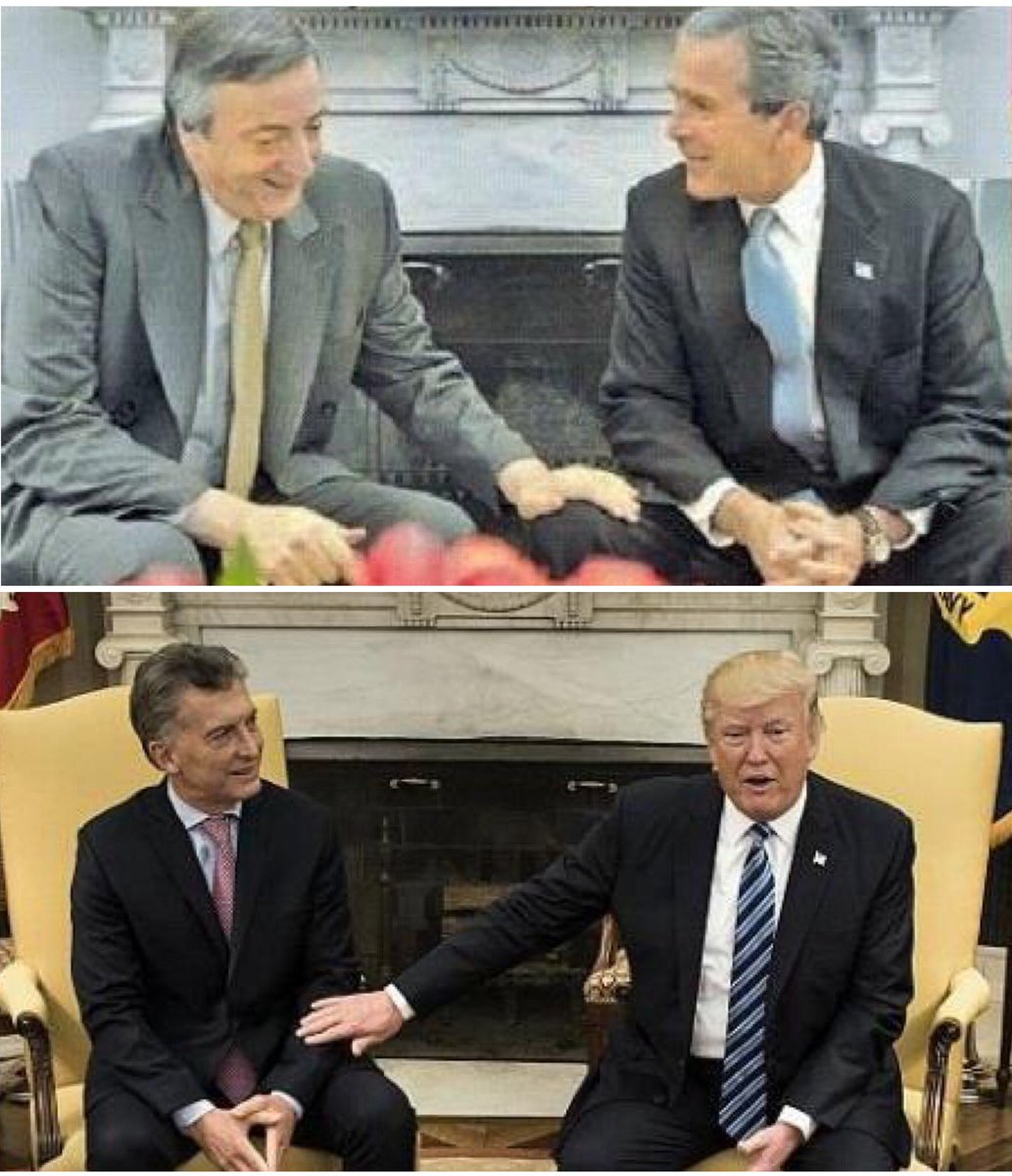 Dos modelos de país totalmente distintos: las relaciones de los Presid...