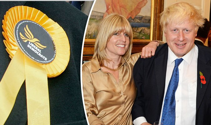Boris' sister Rachel Johnson joins LIB DEMS in attempt to run as MP to...