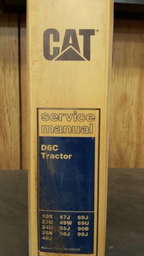 Caterpillar D6c Service Manual