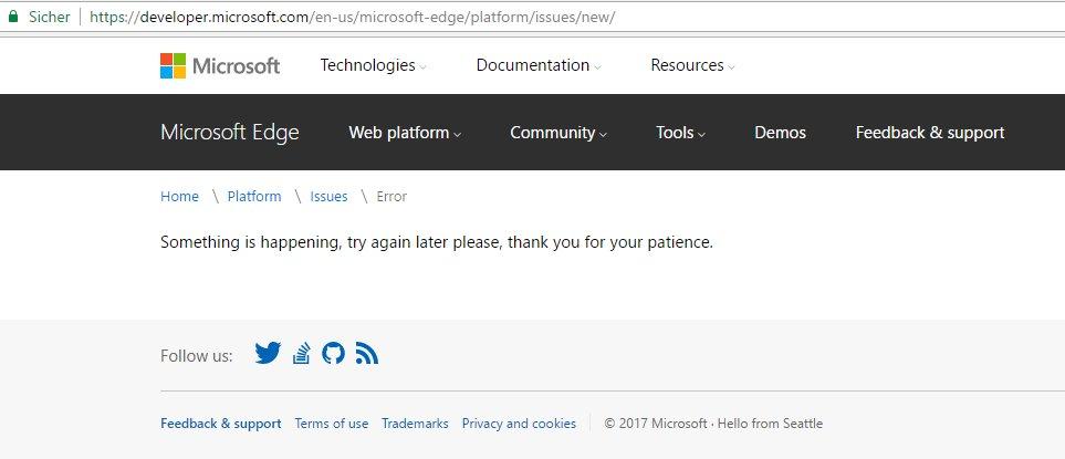 microsoft edge login issues