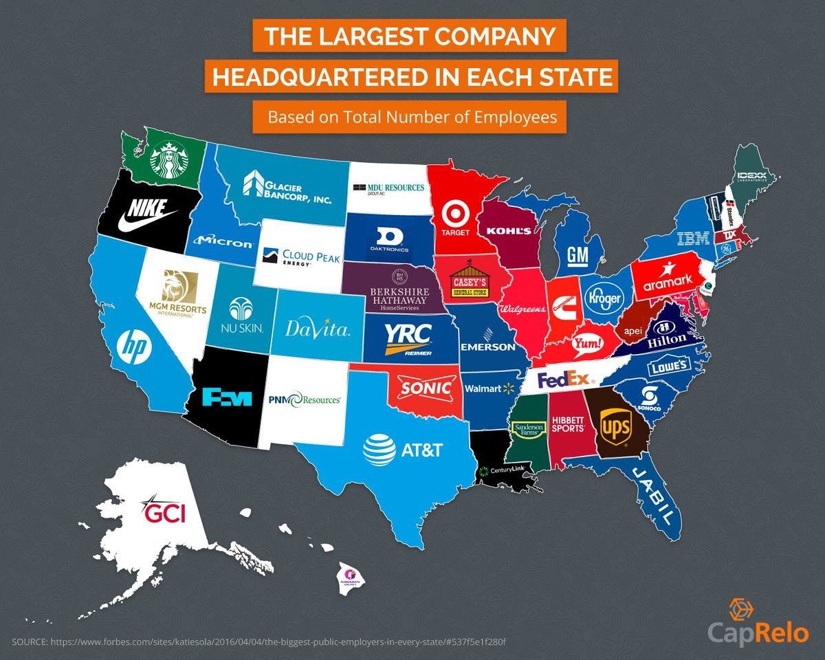 The largest company in each state https://t.co/FFzBNhiPSh