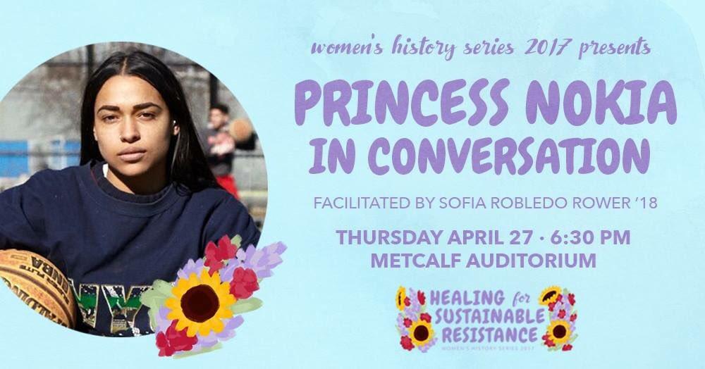 Livetweeting @princessnokia at Brown tonight!!! Follow #PrincessNokiaTalk https://t.co/LWlgtl80zo