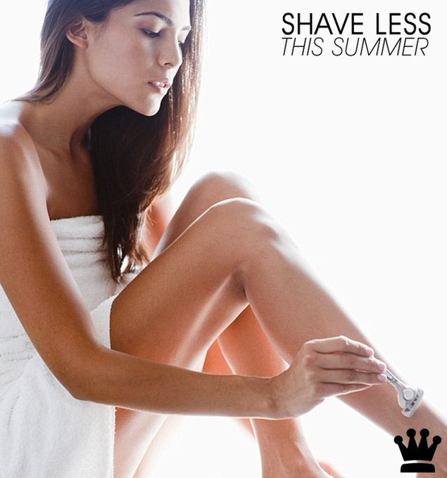 Shave Less This Summer