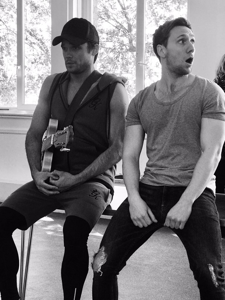Rehearsals for @FootlooseTour @JoshuaDowen1 https://t.co/nF51nONbE8