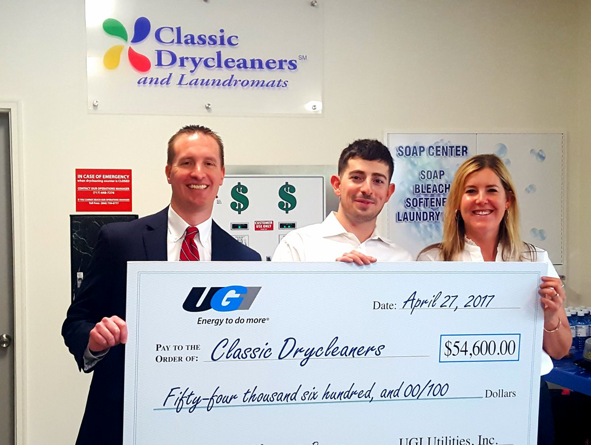 test Twitter Media - Classic Drycleaners and Laundromats receives $54,600 for energy efficiency improvements from UGI https://t.co/H3cHHfGvTf https://t.co/Uz7uuKUcUb