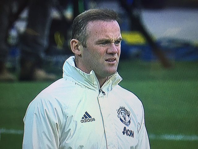 Wayne Rooney here, contemplating Einstein's theory of relativity. http...