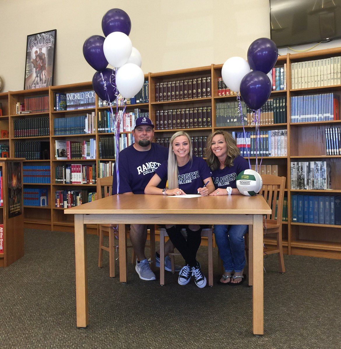 Franklin Isd On Twitter Congratulations To Darby Hughes She Has Signed To Play Volleyball With Ranger College Ranger College