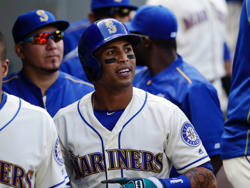 CF Leonys Martin stays with #Mariners; assigned to Triple-A Tacoma aft...